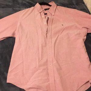 Classic Pink Ralph Lauren Button Down